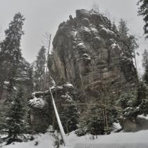 Góry Stołowe - Białe Skały