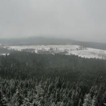Góry Stołowe - výhled z Fortu Karola