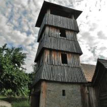 Archeoskanzen Modrá - věž