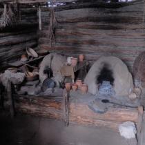 Archeoskanzen Modrá - pekárna