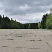 Brdy - letištní plocha