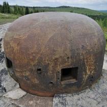 Brdy - zkušební objekt opevnění - bunkr