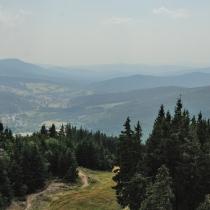 Šumava ze Špičáku