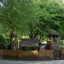 Dětské hřiště na Vyšehradě