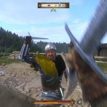 Kingdom Come: Deliverance - souboj s mečem