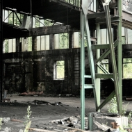 Opuštěná továrna