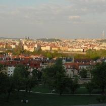 Praha z Petřína