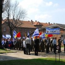 Pochod živých 2010 - Osvětim