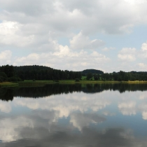 Rybník u Kameniček