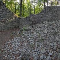 Zřícenina hradu Šostýn