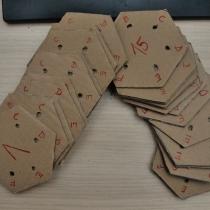 Tkaní na 6dirkových karetkách