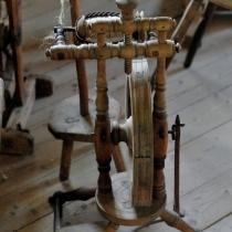 Dřevěné městečko - Fojtství z Velkých Karlovic (interiér)