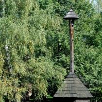 Valašské muzeum v přírodě -Dřevěné městečko - Zvonička z Horní Lidče