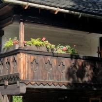 Valašské muzeum v přírodě -Dřevěné městečko - Billův měšťanský dům