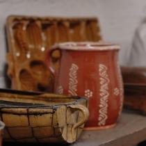 Valašské muzeum v přírodě -Dřevěné městečko - Billův měšťanský dům (interiér)