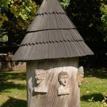 Dřevěné městečko - Soubor klátových úlů