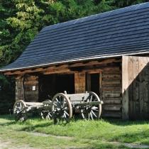 Mlýnská dolina - Mlýn z Velkých Karlovic se stodolou