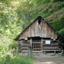 Valašská dědina - Koliba z Černé hory