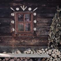 Valašská dědina - Stánisko - dům z Karolinky - Rákošového