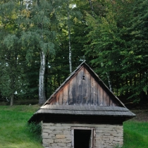 Valašská dědina - Šturalova pasekářská usedlost z Velkých Karlovic - Podťatého