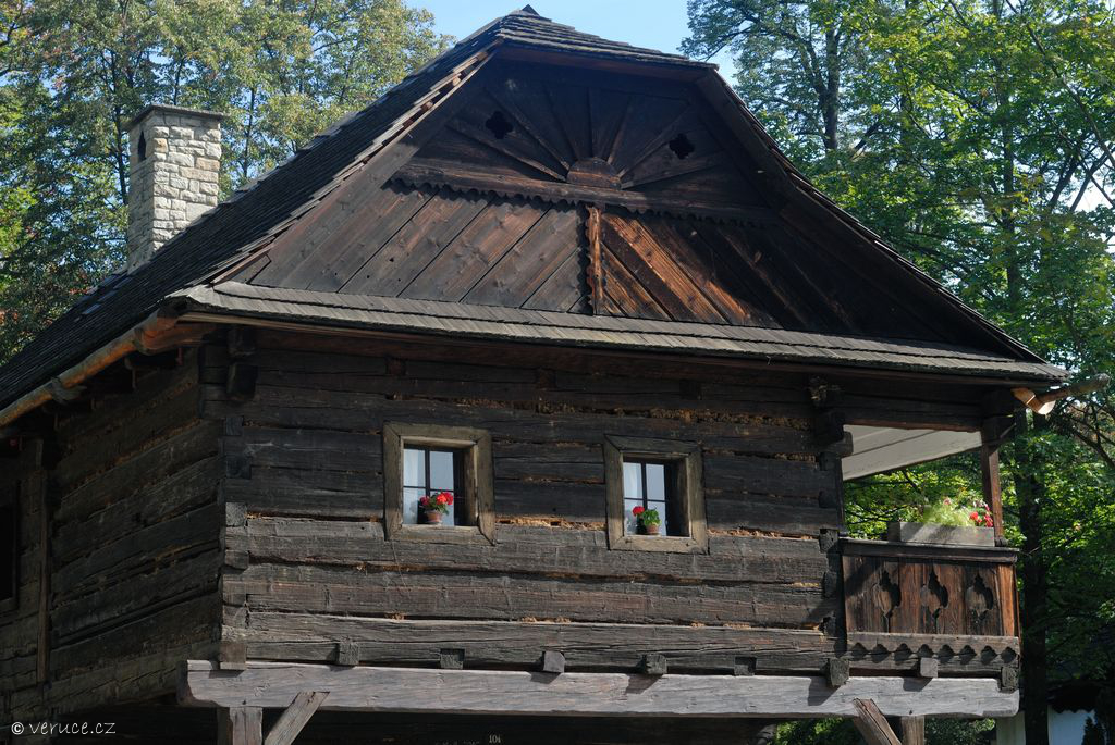 Valašské muzeum v přírodě - Dřevěné městečko