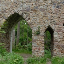 zřícenina hradu Valdek