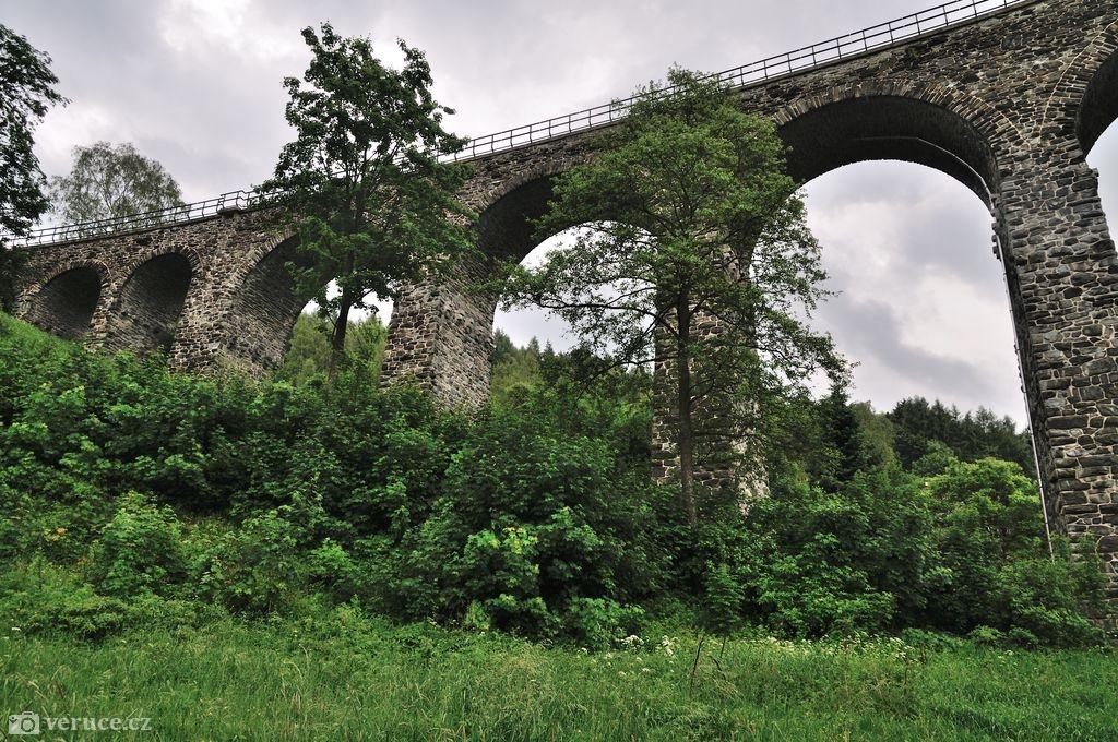 Viadukty v Novině - Kryštofovo údolí