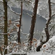 Vyhlídka Máj v zimě
