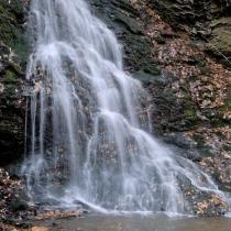 Zákraví - vodopád