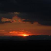 Západ slunce - Nedvězí