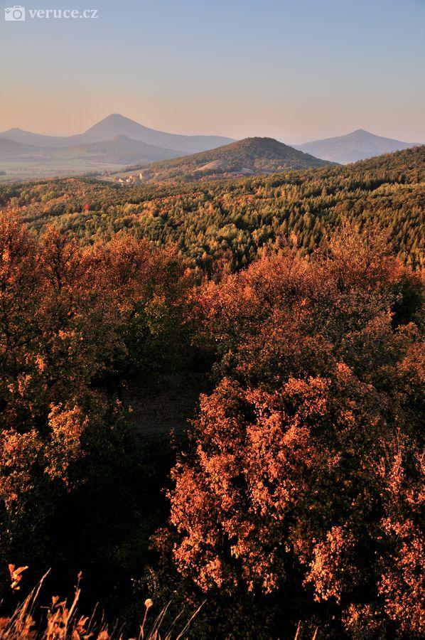 Podzim v Českém Středohoří