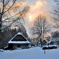 Zima na Veselém kopci