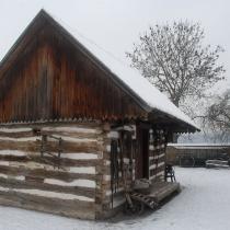 Zimní Přerov nad Labem