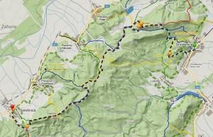 Malé Karpaty - mapa