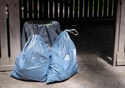 pytle na odpadky