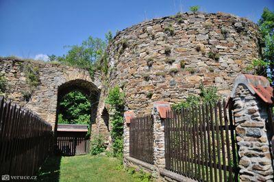 Zřícenina hradu Talmberk